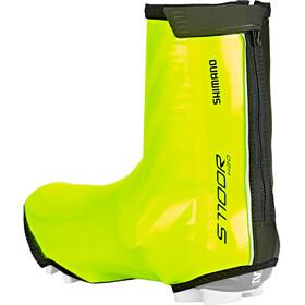 Shimano S1100R H2O Shoe Covers neon yellow